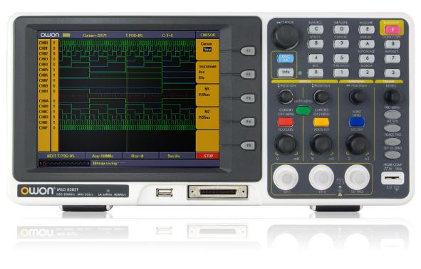 Máy hiện sóng số, phân tích Logic OWON  MSO8202T OWON