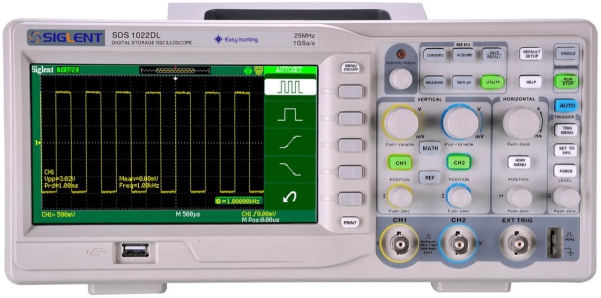 Máy hiện sóng số Siglent  SDS1022DL Siglent