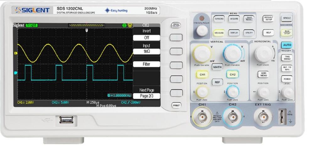 Máy hiện sóng số Siglent  SDS1202CNL Siglent