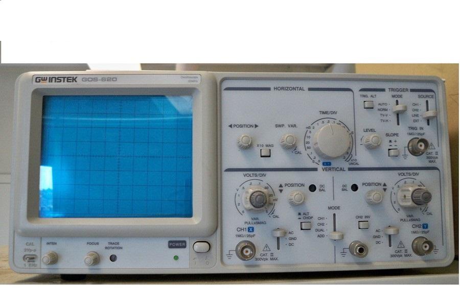 Máy hiện sóng tương tự GOS-620 GWinstek