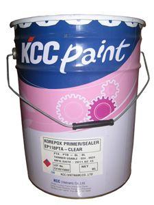 Sơn chịu nhiệt KCC QT600-9180 silver EPOXY