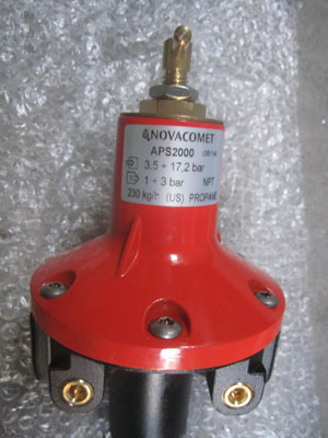 Van giảm áp gas cấp 1 APS 2000 Korea