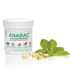 Viên khử mùi Anabac dùng cho nồi hấp tiệt trùng ( Hương bạc hà và Bạch đàn) 320 100 Classic INTERSCIENCE