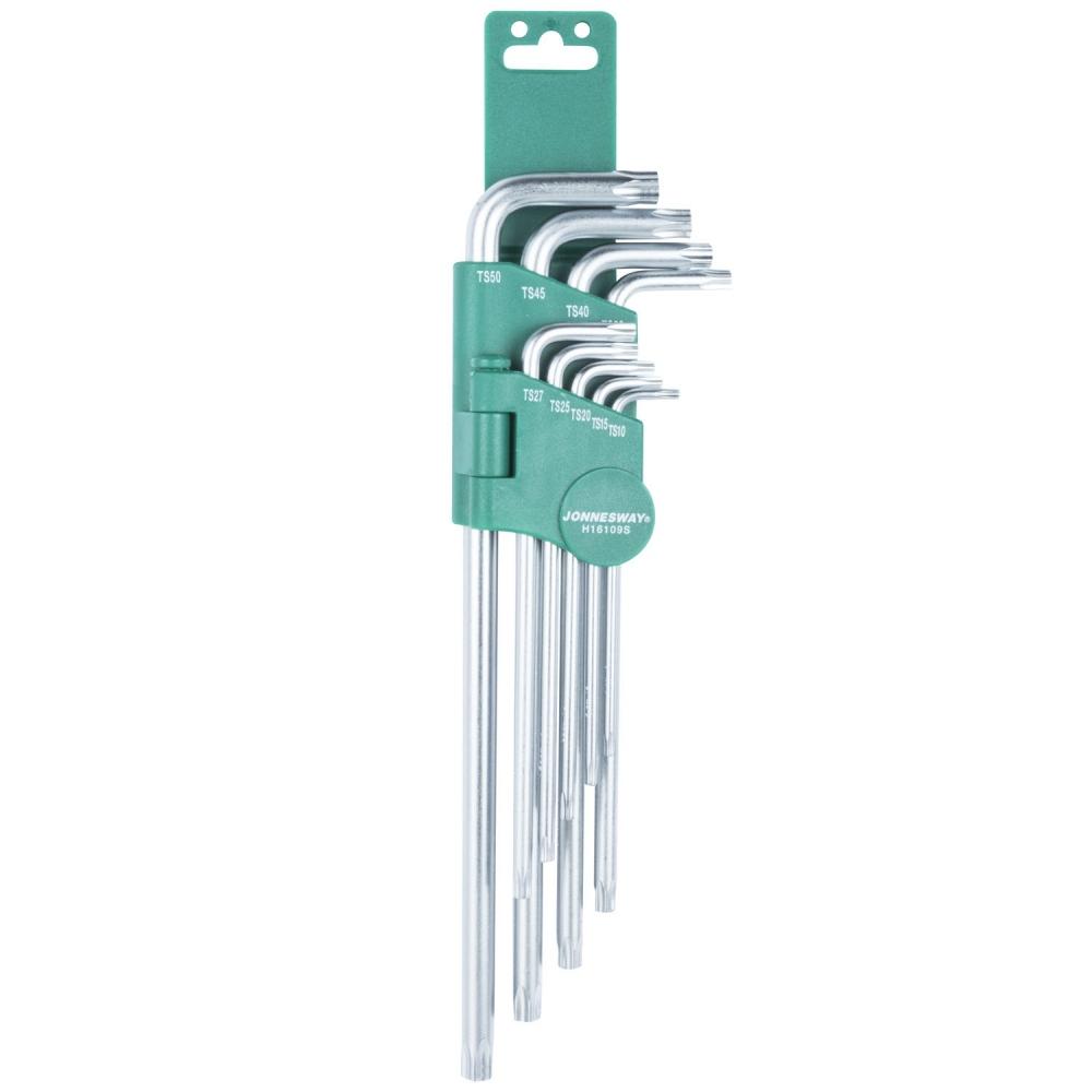 Bộ dụng cụ 9 chi tiết hoa thị hai đầu loại dài H16109S Jonnesway