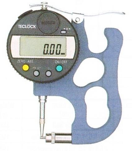 Đồng hồ đo bề dày thành ống có dải đo 0~12mm  TPD-617J Teclock