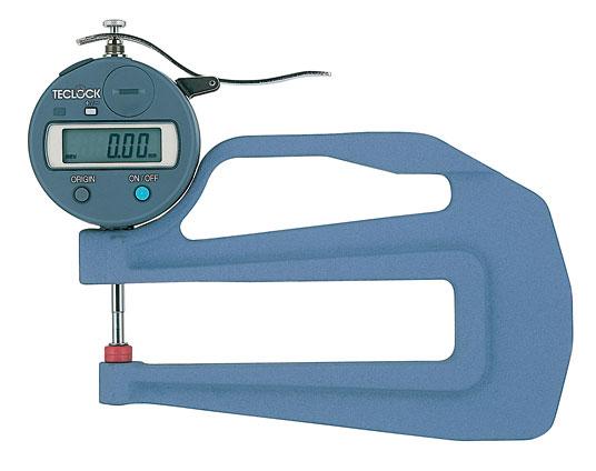 Đồng hồ đo độ dày dải đo 0-12mm  SMD-550S2-BL Teclock