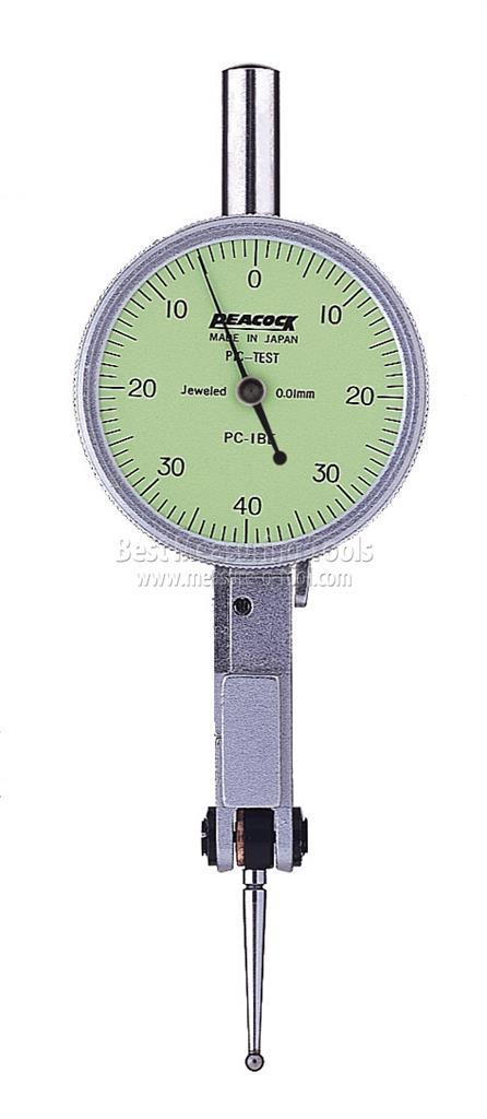 Đồng hồ so chân gập 0.8mm  PC-1BE PEACOCK