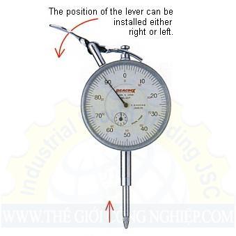 Đồng hồ so chân thẳng 207F-PL PEACOCK