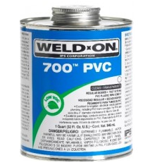 Keo dán ống nhựa 700 PVC WELD-ON