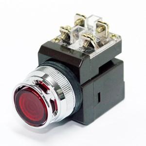 Nút nhấn đèn led  Ø30 màu đỏ CR-304-A0DO HANYOUNG