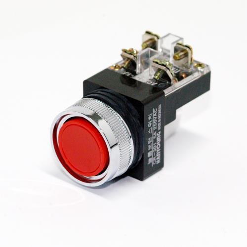 Nút nhấn phi 30 màu đỏ CR-301-1DO HANYOUNG
