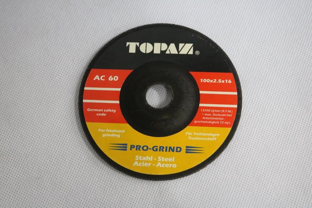 Đá mài 100 x 2.5 x 16 mm AC60 TOPAM