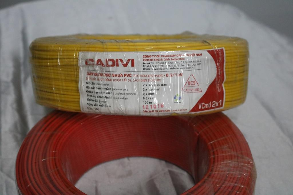 Dây điện đôi mềm  3P 3CX50mm + 1Cx35mm CADIVI