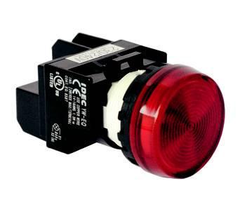 Đèn báo màu đỏ phi 25 ( báo nguồn ) TGCN- 21197 HANYOUNG