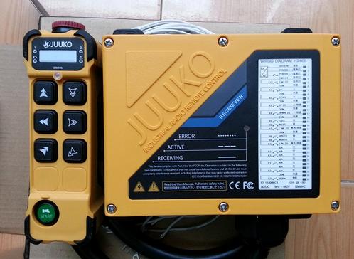 Điều khiển từ xa cầu trục HS- K606 JUUKO