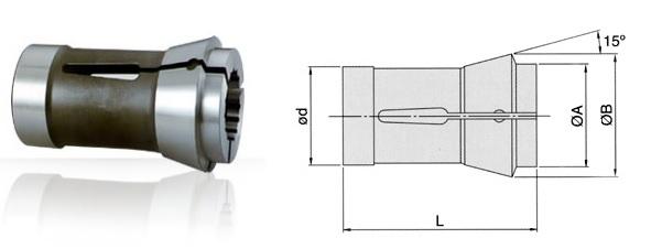 Mâm cặp dạng collet máy CNC 173E TONFAU