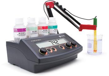 Máy đo pH để bàn HI 2209-02 Hanna