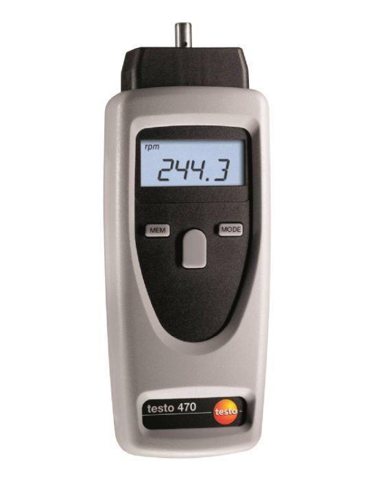 Máy đo Tốc độ  vòng quay Testo 470 Testo