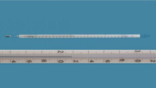 Nhiệt kế  thủy ngân theo tiêu chuẩn DIN L25924 Amarell