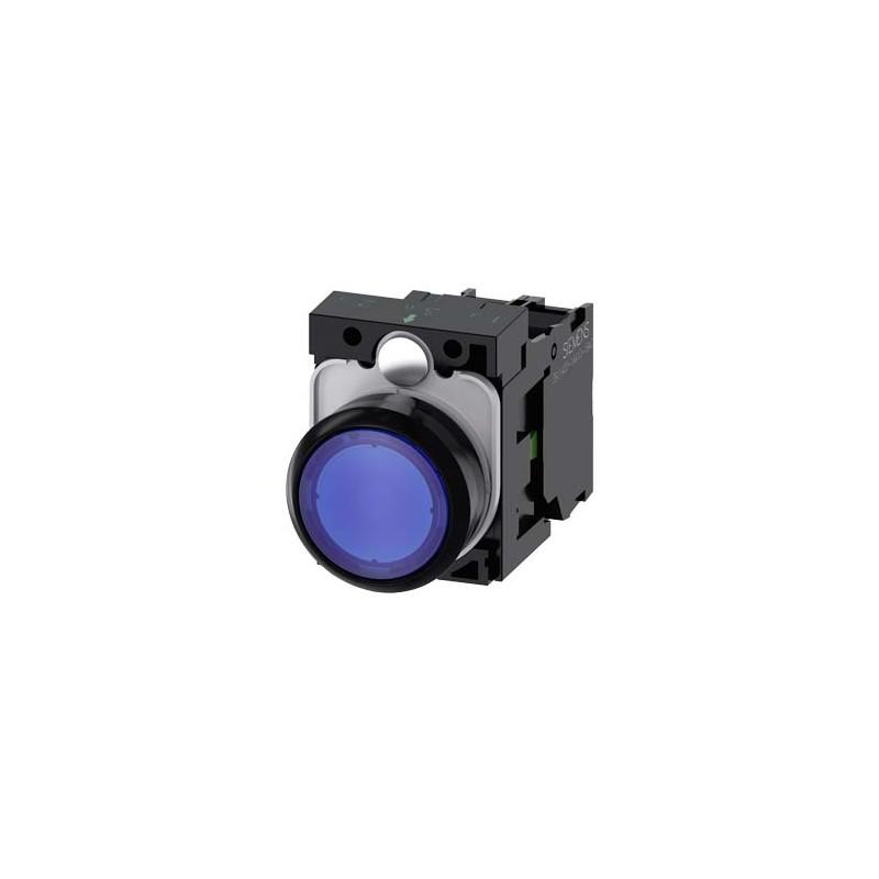 Nút đèn báo 3SU1102-0AB50-1BA0 Siemens