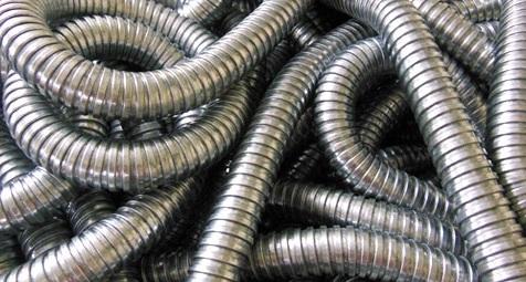 Ống dẻo inox Ø34 x 1000mm TGCN-20855 VietnamMaterials