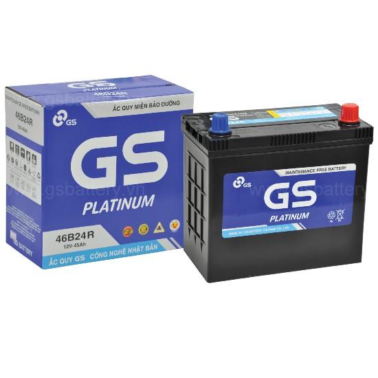 Ắc quy khô GS 46B24LS (45ah) GS