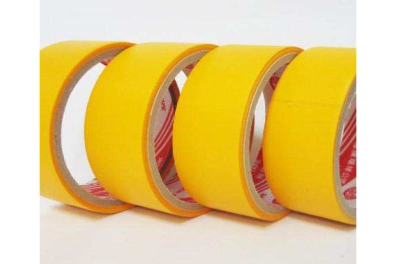 Băng keo Simili 4P8 x 12 yards - Màu vàng Vietnam
