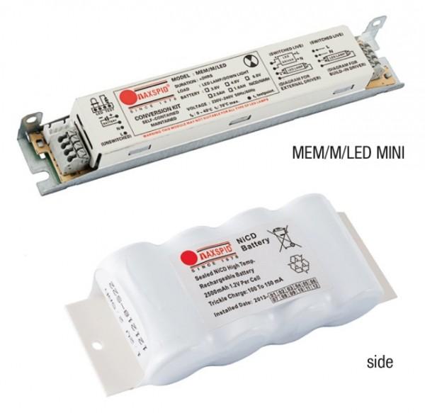 Bộ pin sạc cho bóng LED T8 MAXSPID MEM/M/LED MINI MAXSPID