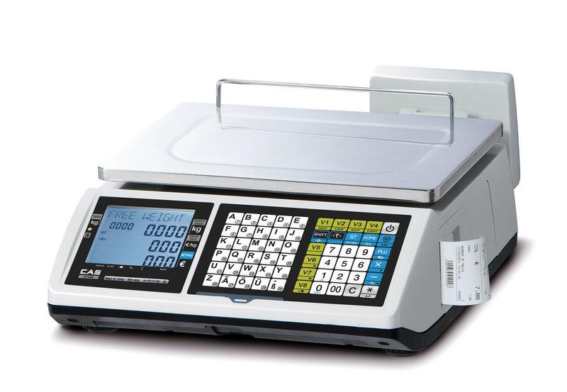 Cân điện tử in hóa đơn, in phiếu CT100-30Kg CAS