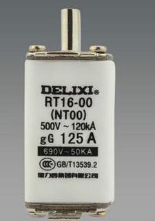 Cầu chì  RT16-00(NT00) 125A DELIXI