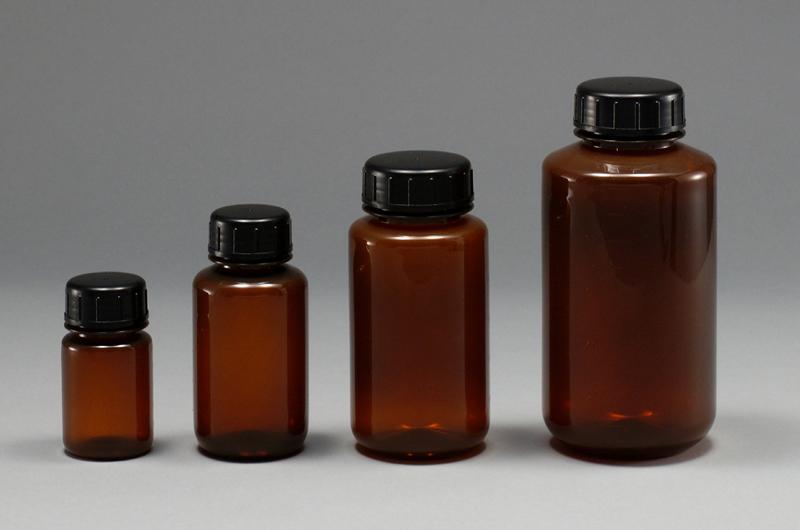 Chai nhựa PP màu nâu đã khử trùng 100ml  1104-02 NIKKO