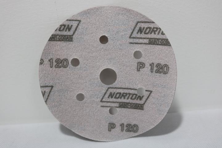 Giấy nhám tròn P 120 NORTON