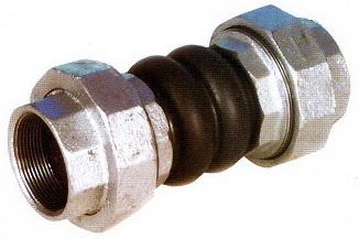 Khớp nối mềm cao su cầu đôi nối ren 32mm TGCN-23942 China