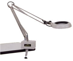 Kính lúp kẹp bàn dùng đèn huỳnh quang  SKK-F 2X OTSUKA