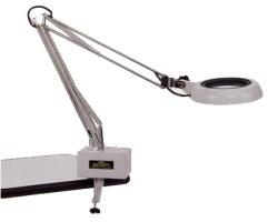 Kính lúp kẹp bàn dùng đèn huỳnh quang, có độ phóng đại 8 lần illuminated Light Scope SKK-F 8X OTSUKA