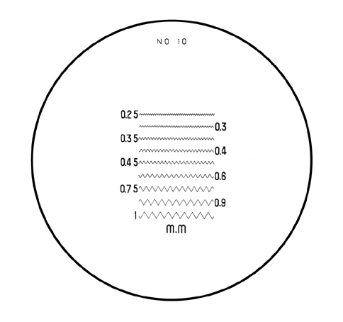 Mặt kính cho kính lúp PS No.10 PEAK
