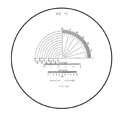 Mặt kính cho kính lúp PS No.12 PEAK