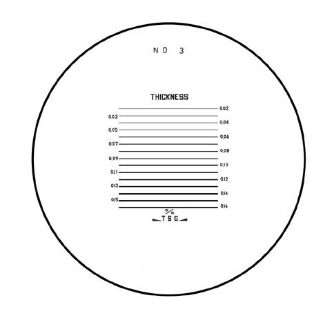 Mặt kính cho kính lúp PS No.3 PEAK