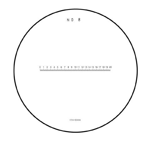 Mặt kính cho kính lúp PS No.8 PEAK