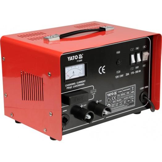 Máy nạp ắc quy 12/24V 25A 350Ah  YT-8305 Yato