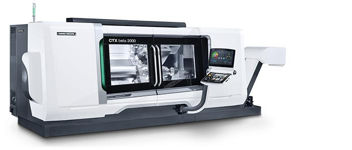 Máy phay tiện 5 trục hỗn hợp CTX Beta 1250 TC DMGMORI