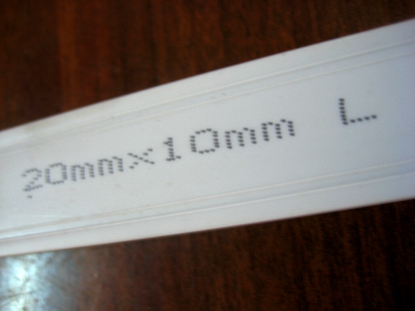 Nẹp nhựa vuông luồng dây điên PVC 1.7m x 20mm x 10mm TGCN-25224 VietNamPlastics