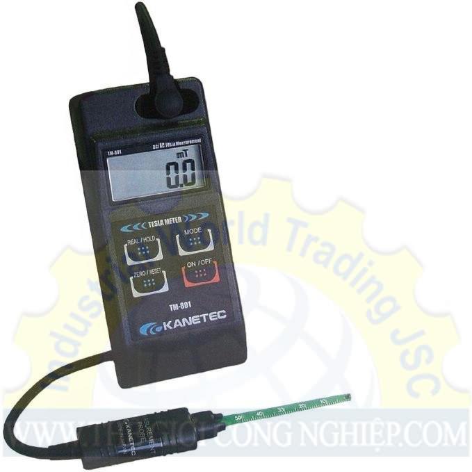 Hiệu chuẩn Thiết Bị Đo Từ Trường (bao gồm đầu dò tiêu chuẩn TM-801PRB )  TM-801 Calibration Kanetec