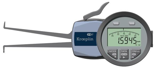 Thước cặp đồng hồ điện tử G220 KROEPLIN