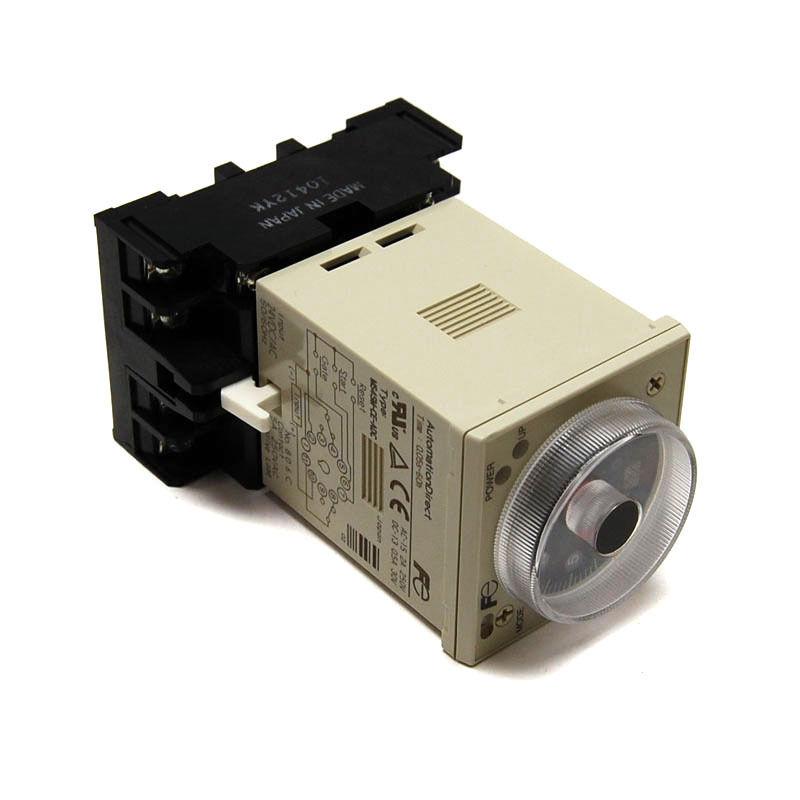 Timer 0.05s-60h 240VAC MS4SM-CE Fuji-Electric