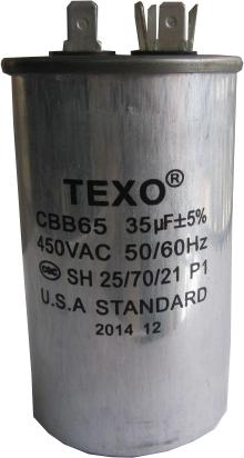 Tụ ngậm 35MF 450VAC TEXO