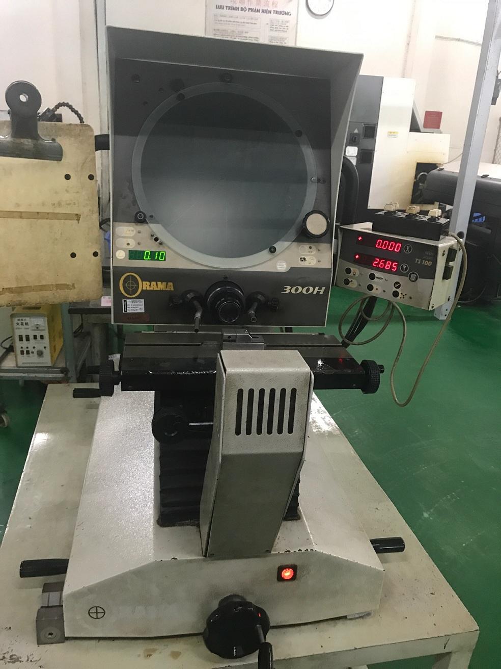 Bảo trì máy chiếu biên dạng 300H-Maintenace ORAMA