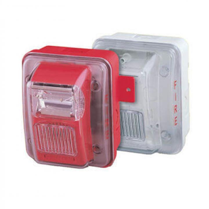 Còi đèn chớp kết hợp báo cháy chịu nước WHEC24-75WR Hochiki