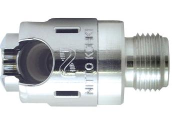Đầu nối khí  PE-3S-G PFA Nitto-Kohki