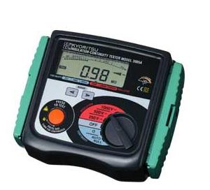 Đồng hồ đo điện trở cách điện (mêgôm mét)  3005A KYORITSU